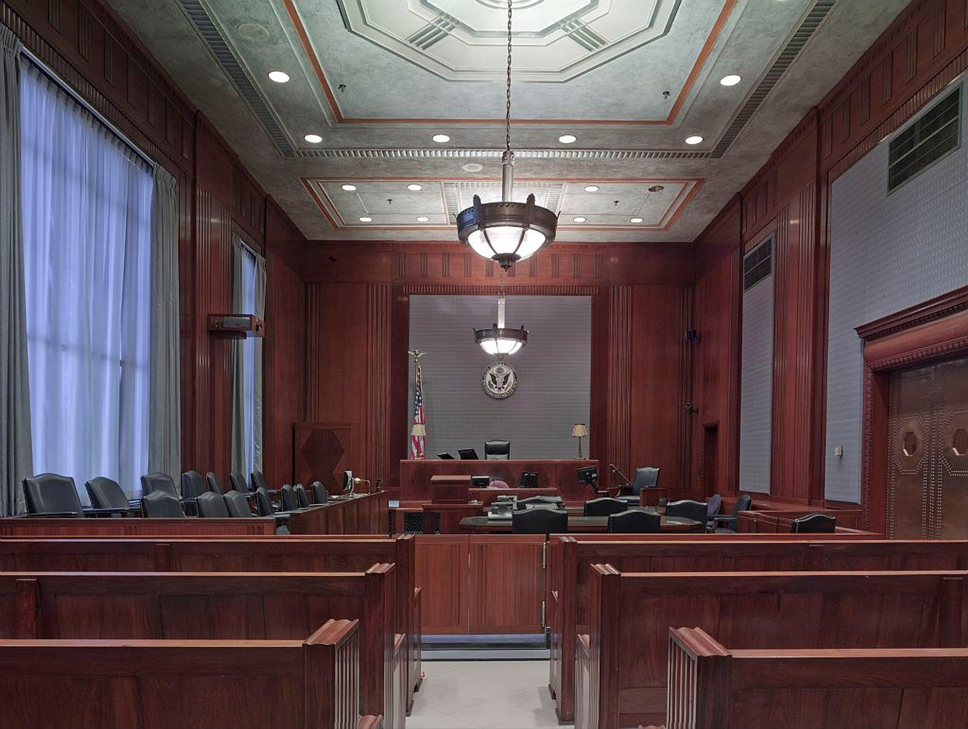 Anita Hill Hearing: Do Infrared Heater Need in a Courtroom?
